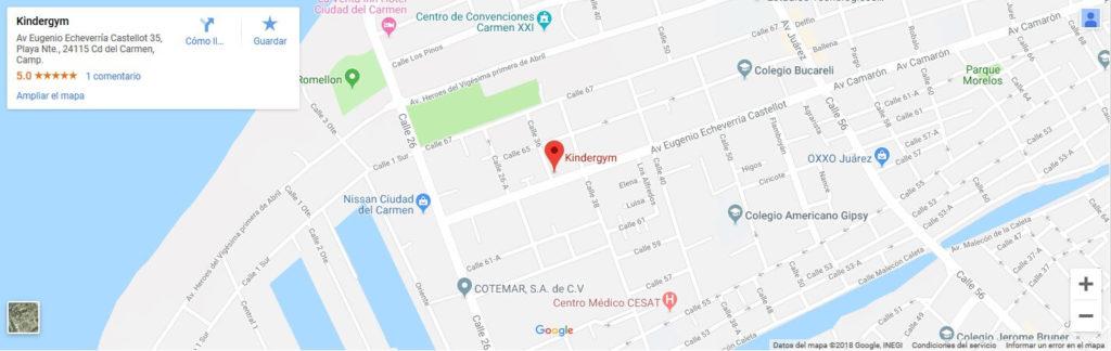 Kindergym | Cd del Carmen