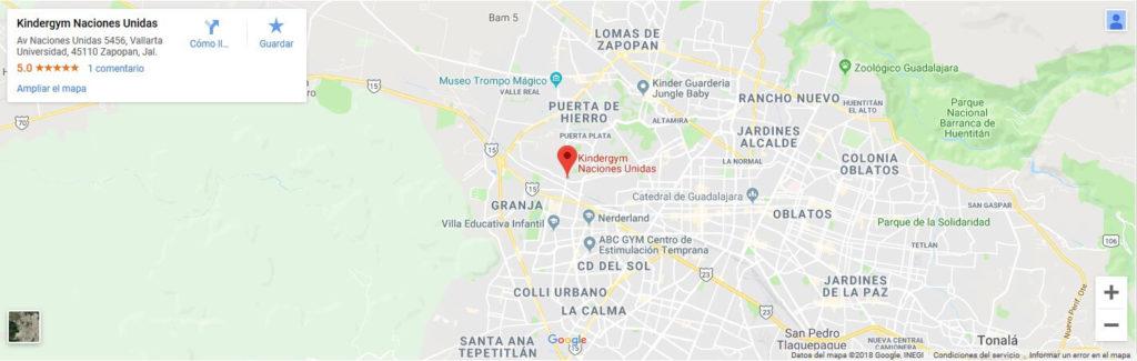 Kindergym | Guadalajara Naciones Unidas
