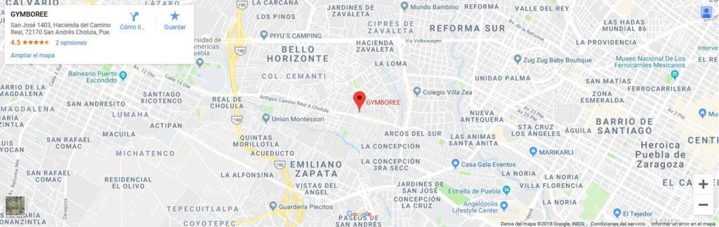 Kindergym | Puebla Camino Real