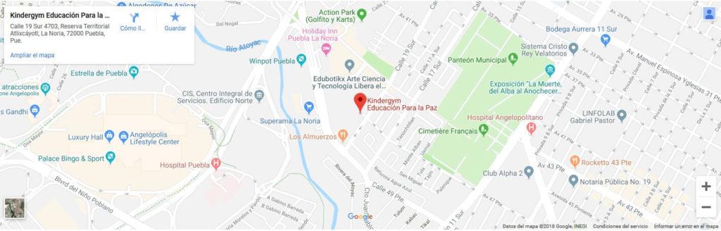 Kindergym | Puebla La Noria